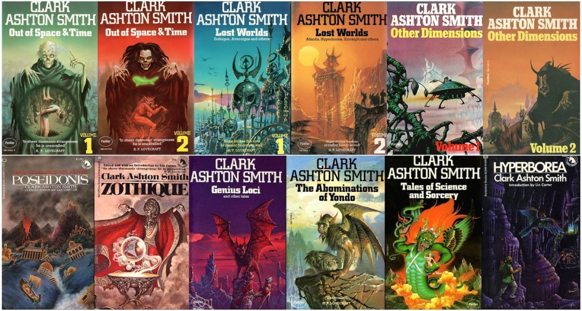 Definitive Weird Fiction: Clark Ashton Smith