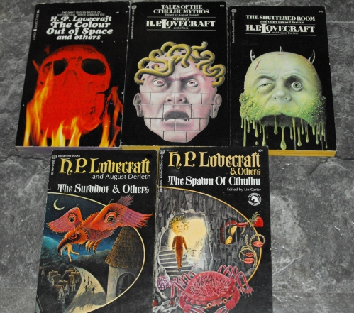 Lovecraft-Ballantine-Paperback-collection