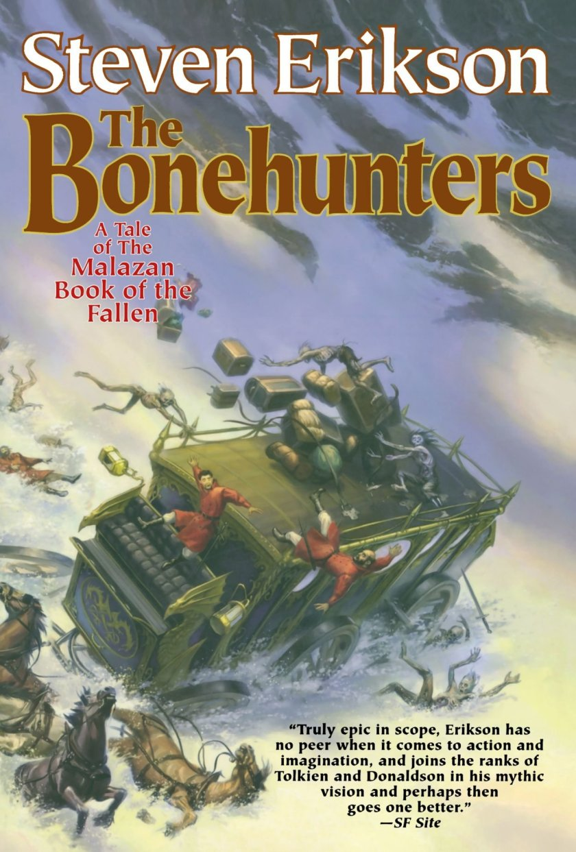 Book Review: The Bonehunters by Steven Erikson – mightythorjrs.com – The  Black Blog of Nameless Cults