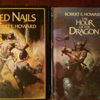 Book Haul/Spotlight: Red Nails and The Hour of the Dragon by Robert E. Howard