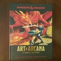 Book Haul/Spotlight – Dungeons and Dragons Art and Arcana: A Visual History